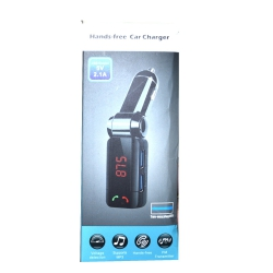 FM-модулятор c Bluetooth Two-Plug 2 USB