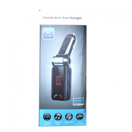 FM-модулятор c Bluetooth Two-Plug 2 USB