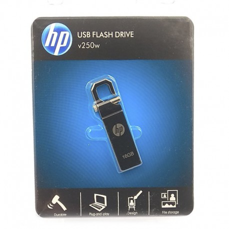 USB Флеш память HP v250w Metal 16 ГБ Silver (Серебряный)