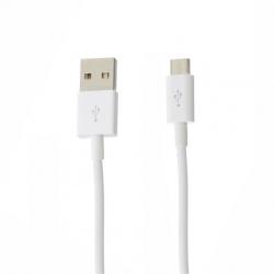 Сетевое зарядное устройство Moxom KH-31Y 2в1 Fast Charg QC3.0 USB 2.4 A - V8 (Micro USB) 1 м