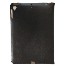 Чехол-книжка Original Leather Case iPad Air/Air 2/2017 Black (Черный)