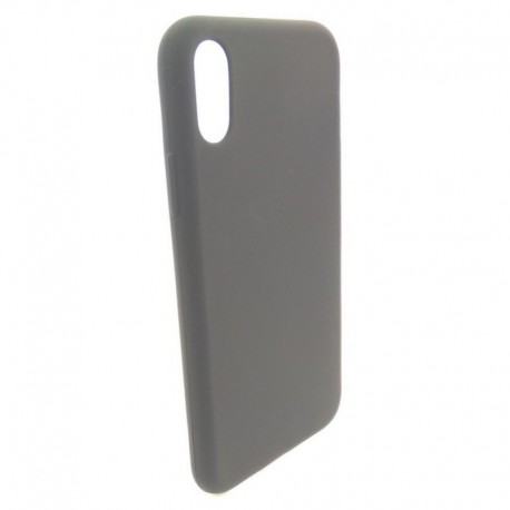 Силиконовый чехол Simin Style iPhone Xr Black (Черный)