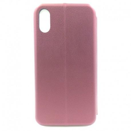 Чехол-книжка G-CASE WING iPhone Xr Ruby (Бордовый)