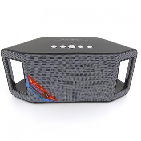 Портативная Bluetooth колонка HOCO WS-Y66B Black (Черный)