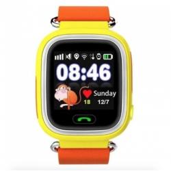 Умные часы UWatch Kid Smart Watch Q90 Yellow/Orange (Желтый/Оранжевый)