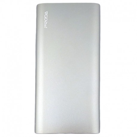 Power Bank PRODA PPP-13 slim 10000 mAh Silver (Серебряный)