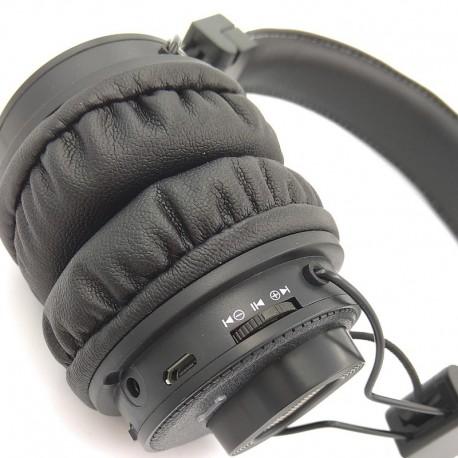 Беспроводные Bluetooth наушники NIA X5 SP APP Control TF FM-радио Black (Черный)