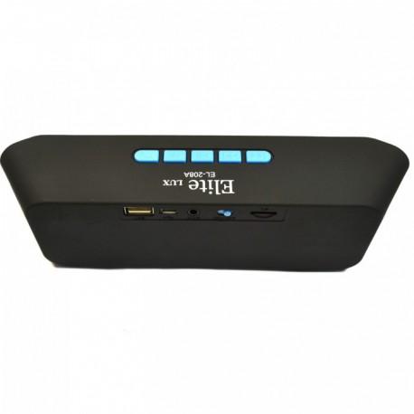 Портативная колонка с Bluetooth Elite Lux EL-208A Blue (Синий)