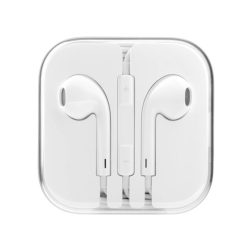 Наушники EarPods iPhone 5G White (Белый)