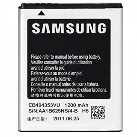 Аккумуляторная батарея для Samsung C6712/I5510/S5570/M828C/T589 EB494353VU 1200 mAh