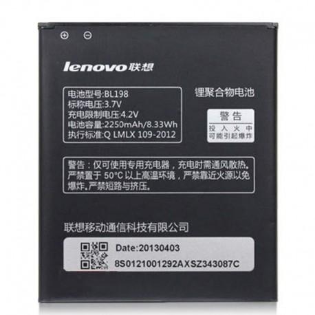 Аккумуляторная батарея для Lenovo A830/K860/S880 BL198 2250 mAh
