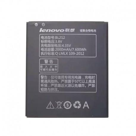 Аккумуляторная батарея для Lenovo A5860/A620t/A780E/S860E BL212 2000 mAh