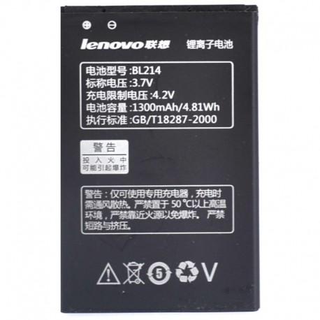 Аккумуляторная батарея для Lenovo A218/A208/A300T/A360E BL214 1300 mAh