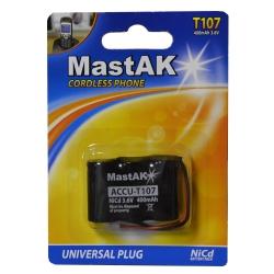 Аккумуляторная батарея Mastak T107 400 mAh