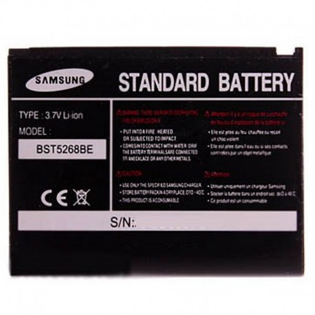 Аккумуляторная батарея для Samsung SGH-D800 BST5268BE 800 mAh