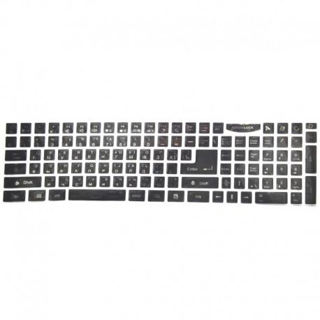 Наклейка на клавиатуру большая (кнопки)