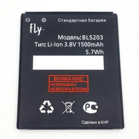 Аккумуляторная батарея для Fly IQ442 Quad Miracle 2 BL5203 1500 mAh