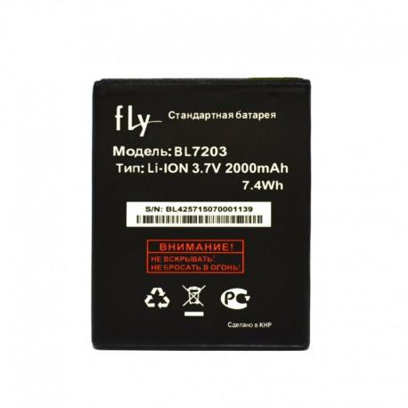 Аккумуляторная батарея для Fly IQ4413/IQ4405 BL7203 2000 mAh