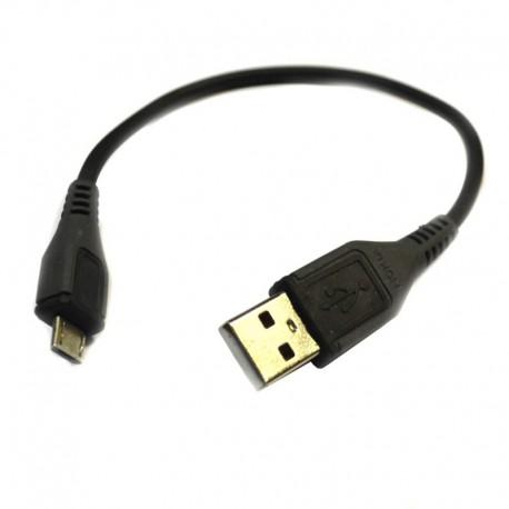Кабель USB - Micro USB 0.1 м оплетка