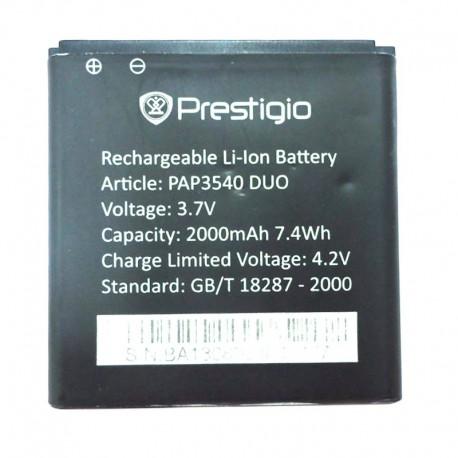Аккумуляторная батарея для Prestigio MultiPhone 3540 Duo PAP3540 DUO 2000 mAh
