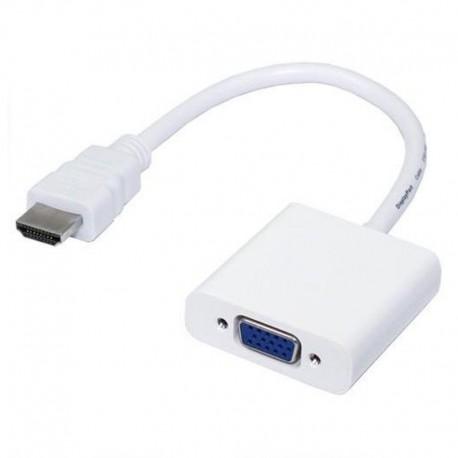 Конвертер HDMI на VGA + AUX