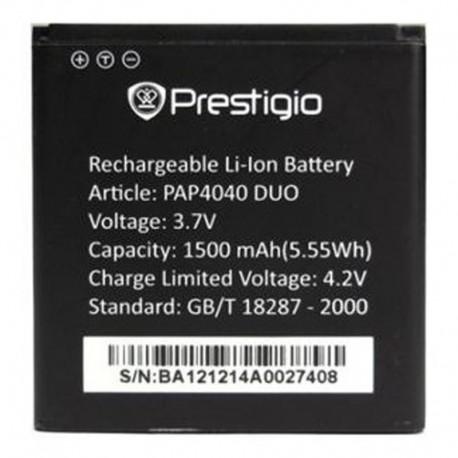 Аккумуляторная батарея для Prestigio Multiphone 4040 Duo PAP4040 DUO 1500 mAh