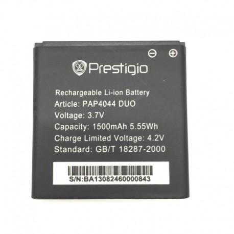 Аккумуляторная батарея для Prestigio Multiphone 4044/4322 Duo PAP4044 DUO 1500 mAh