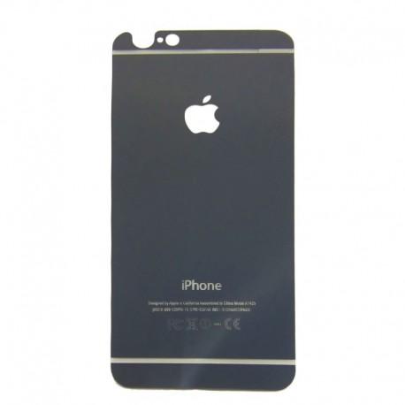 Защитное стекло Glass Rock Back iPhone 6G/6S Black (Черный) (1917)