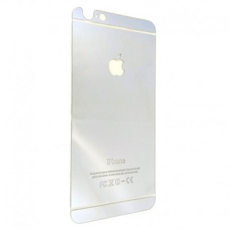 Защитное стекло Glass Rock Back iPhone 6G/6S Silver (Серебряный) (1920)