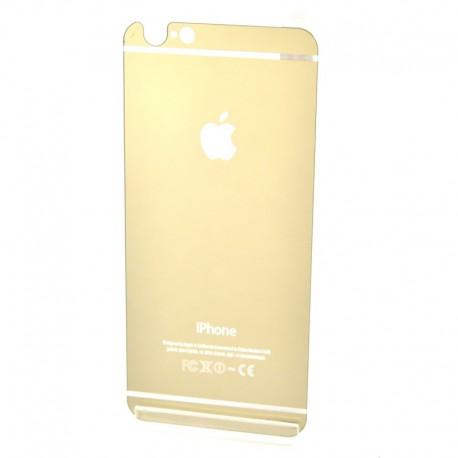 Защитное стекло Glass Rock Back iPhone 6G/6S Gold (Золотой) (1923)