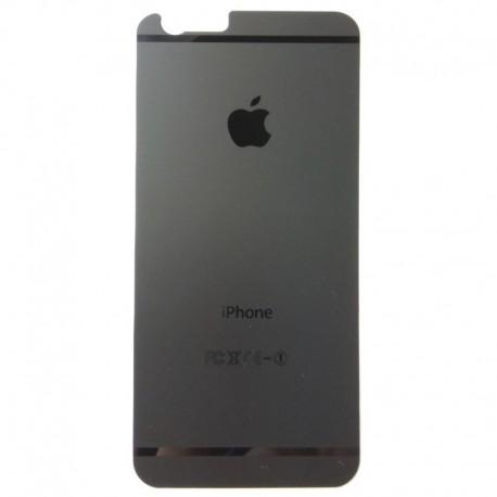 Защитное стекло Glass Rock Back iPhone 6G/6S Black (Черный) (1925)