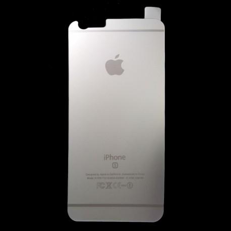 Защитное стекло Glass Rock Back iPhone 6G/6S Silver (Серебряный)