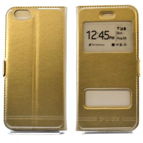 Чехол-книжка G-CASE iPhone 6G/6S Gold (Золотой)