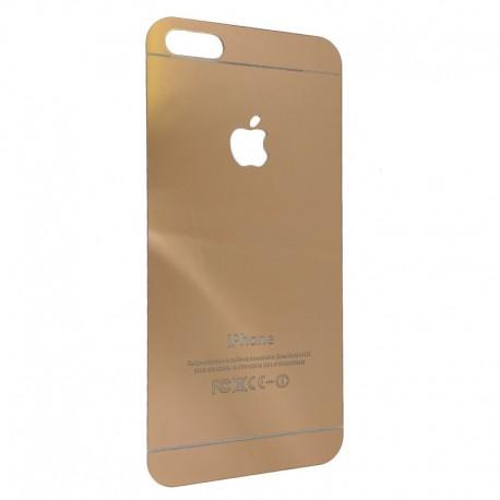 Защитное стекло Glass Rock Back iPhone 5G/5S/5SE Pink (Розовый) (2003)