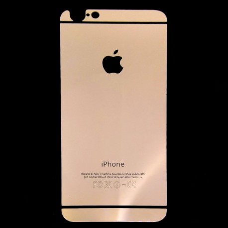 Защитное стекло Glass Rock Back iPhone 6G/6S Pink (Розовый) (2034)