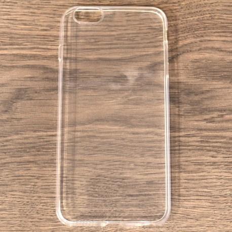 Силиконовый ультратонкий чехол Remax iPhone 6G+ White (Белый)
