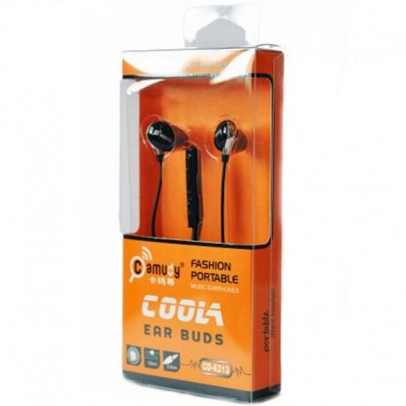 Наушники Camudy CD-E213 COOLA Black (Черный)