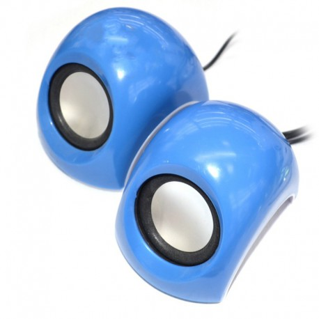 Колонки для ноутбука Haze H-335 Blue (Синий)