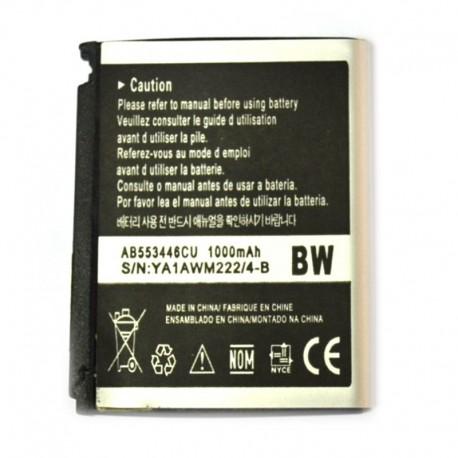 Аккумуляторная батарея для Samsung F480/F488/I620/W509/W569 AB553446CU 1000 mAh