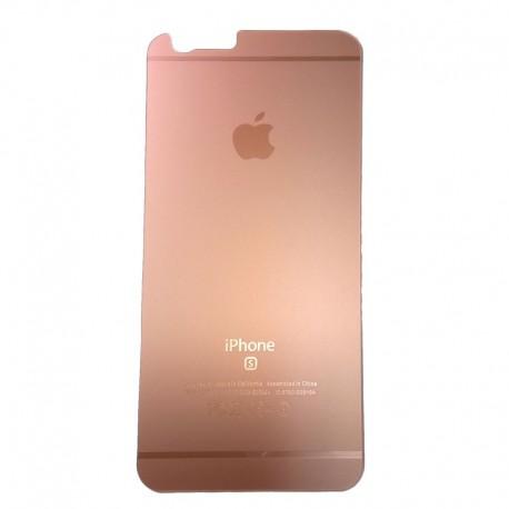 Защитное стекло Glass Rock Back iPhone 6G/6S Pink (Розовый)
