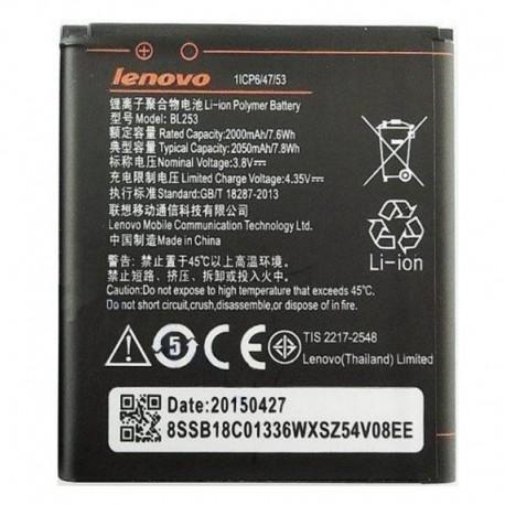Аккумуляторная батарея для Lenovo A1000/A2010 BL253 2050 mAh